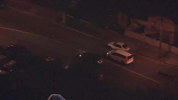 [LA] Stolen Vehicle Pursuit Ends in Compton