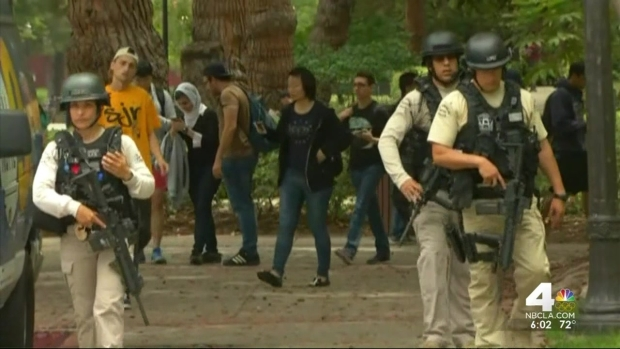 [LA] Students Hid During UCLA Lockdown