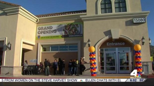 [LA] Supermarket Chain Aldi Opens 10 Stores in SoCal