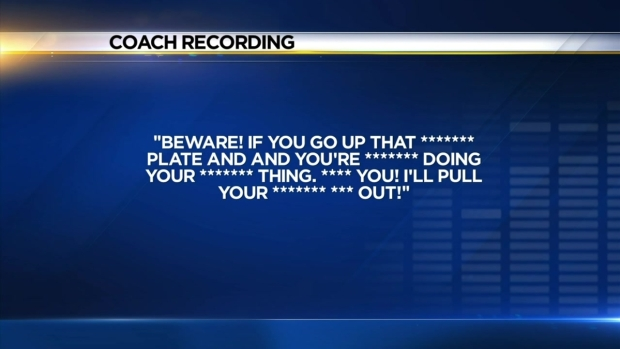 [LA] Audio: Baseball Coach Unleashes Verbal Tirade