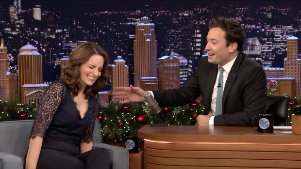 [NATL] 'Tonight Show': First Impressions With Tina Fey