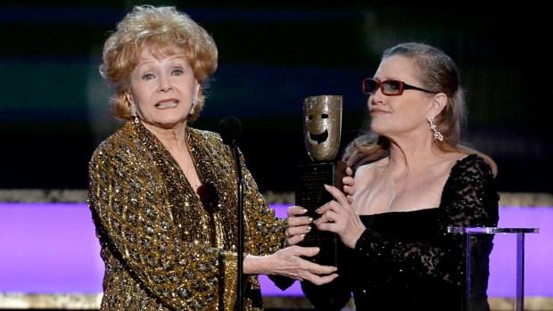 Actress Debbie Reynolds Dies at 84