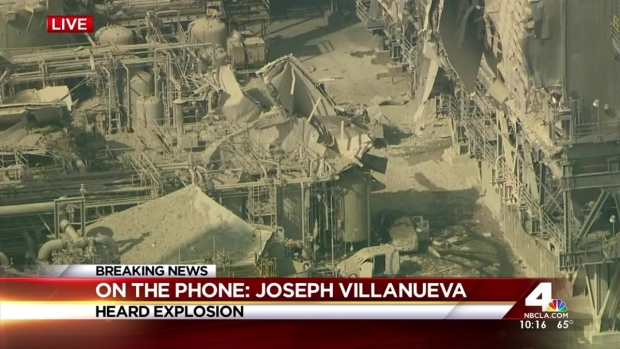 [LA] Homes Shaken Miles Away From Oil Refinery Explosion