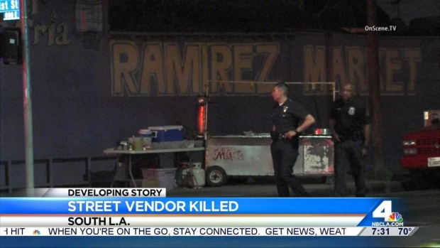[LA] Police Hunt for Taco Vendor's Killers