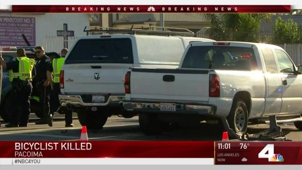 [LA] Teen Bicyclist Killed in 2-Car Crash