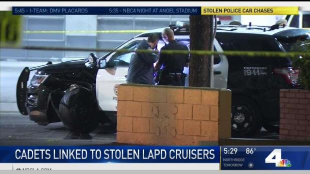 [LA] Teen Cadets Suspected of Stealing LAPD SUVs