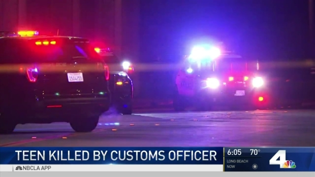 [LA] Teen Robbery Suspect Killed By Customs Officer