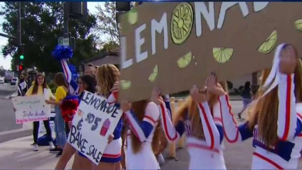 [LA stringer] Thousand Oaks Lemonade Stand Raises Money and Spirits