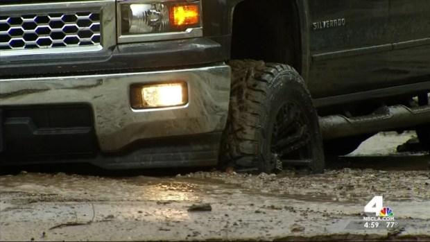 Thunderstorms Trigger Dangerous Mudslides