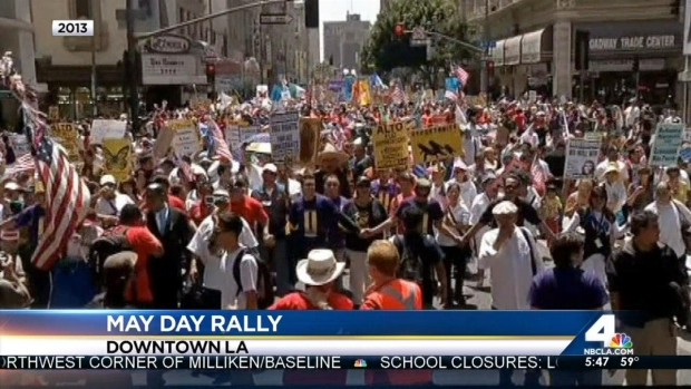 [LA] May Day Targets Immigration Reform, Workers Rights