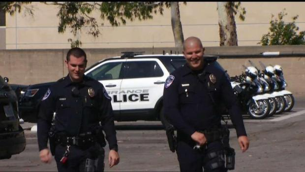 [LA] Torrance Police Officers Honored For Saving Baby's Life