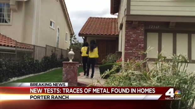 [LA] Traces of Metal Found in Porter Ranch Homes