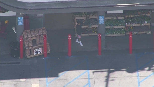 Young Man Released from Trader Joe's Barricade