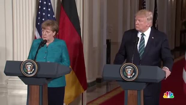 [NATL] Trump Draws Wiretapping Parallel With German Chancellor