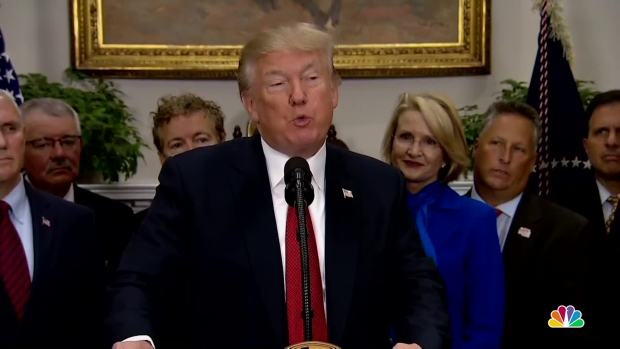 [NATL] Trump Signs Executive Order Re-Working Parts of Health Care