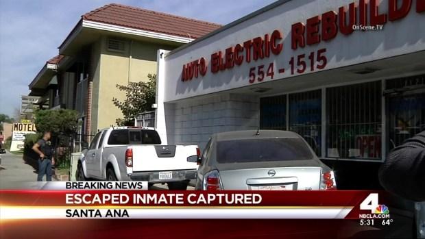 [LA] Two Escaped Inmates Remain on the Run