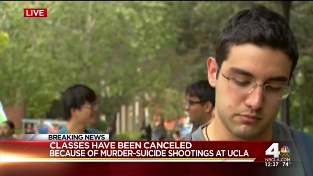 [LA] UCLA Students, Staff Recount 'Unreal' Moments After Shooting