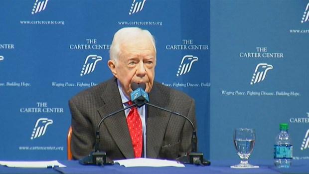 [NATL] Former President Carter Talks Cancer Diagnosis