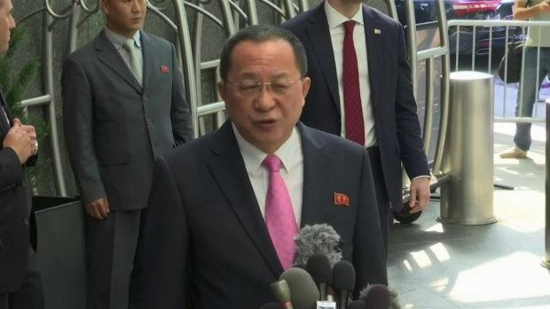 [NATL] North Korean Foreign Minister: 'The United States Declared War'