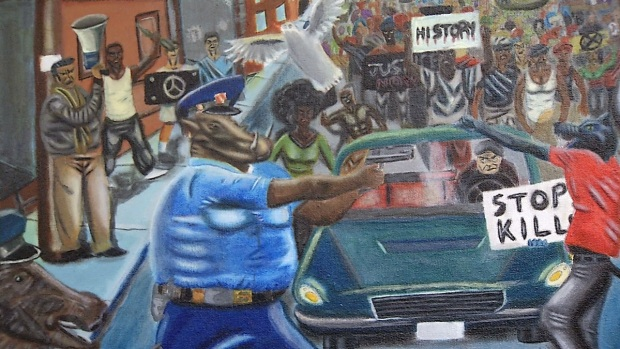 [NATL] Controversial Painting Back on Wall in US Capitol
