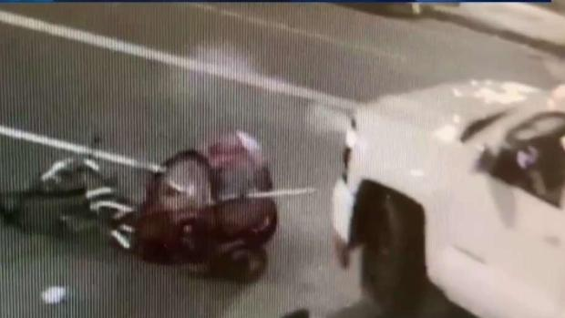 [LA] Video Captures Pickup Hitting Father on Bicycle