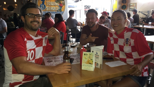World Cup: Fans Gather Around LA to Witness Croatia Victory
