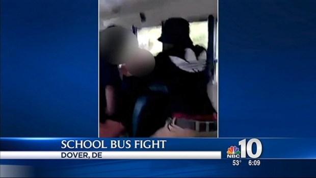 [PHI] Caught on Camera: School Bus Fight