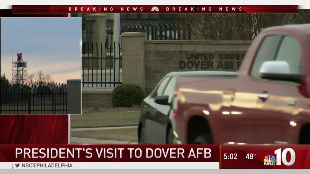 [NATL-PHI] President Visits Dover Air Force Base to Honor Fallen Navy SEAL