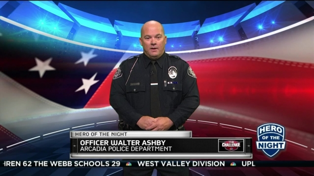 Challenge Hero: Officer Walter Ashby