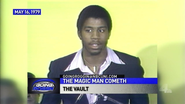 The Vault: Lakers Sign Magic Johnson (1979)