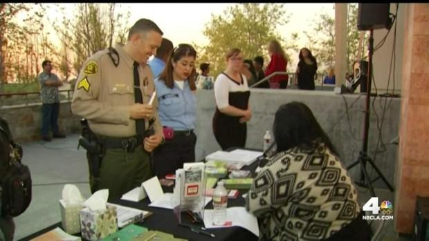 [LA] Memorial for Family Killed in Wrong-Way Crash