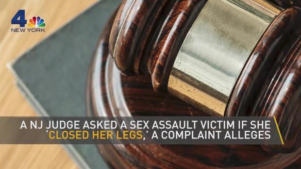 [NATL NY] 'Close Your Legs' Judge in NJ Sex Case Faces Suspension
