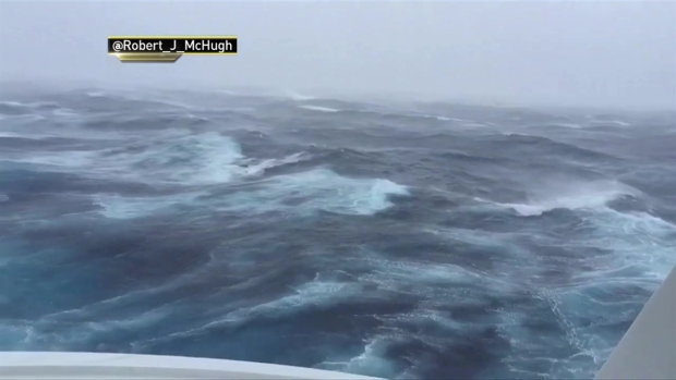[NATL-NY] Anthem of the Seas Sailing Through Hermine