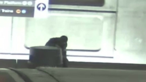[DC] Intoxicated Man Tumbles Off Metro Wall