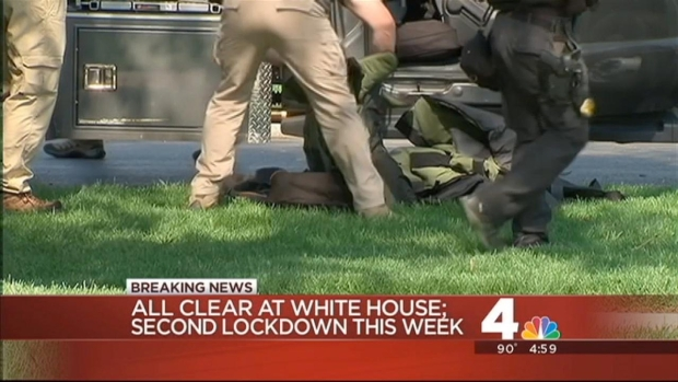 [DC] Two in Custody After Items Thrown Over White House Fence