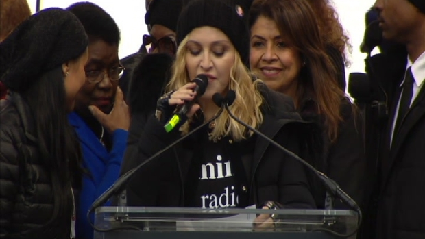 [NATL] Madonna at DC Women's March: 'Good Will Win in the End'