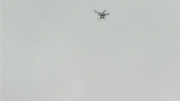 [NATL-DC] RAW VIDEO: Drone Flies Above US Capitol