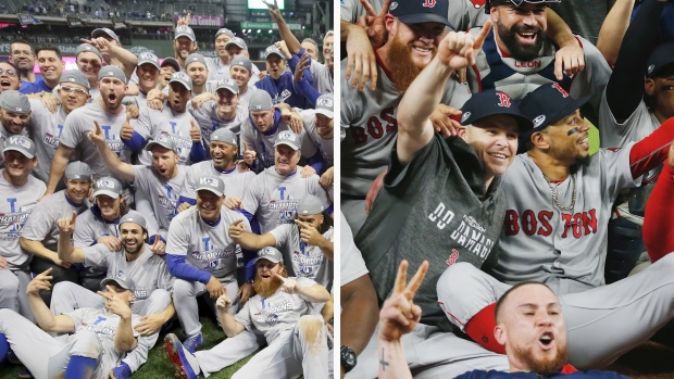 [NATL] Dodgers, Red Sox Look to Add to World Series Totals