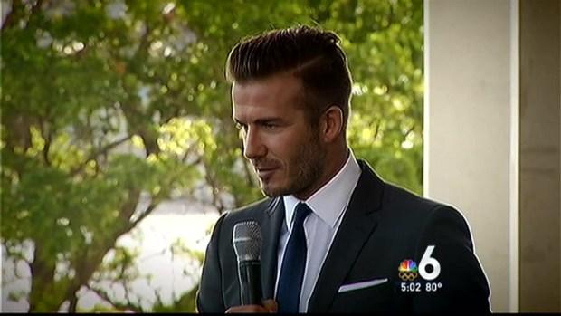 [MI] David Beckham Bringing Major League Soccer Franchise to Miami