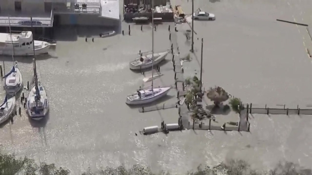 [NATL-MI] Chopper Images Show Flooding in Key Largo After Irma