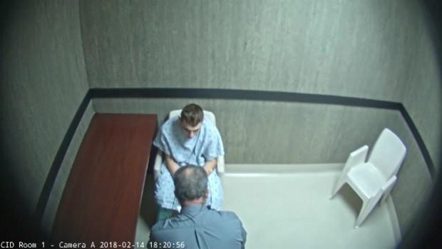 [NATL MI] Clip From Interrogation of Nikolas Cruz