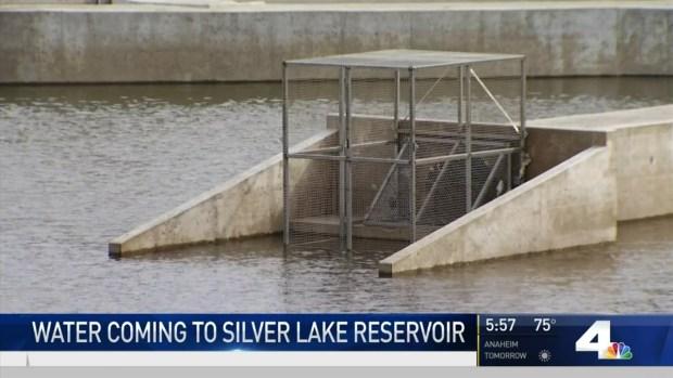 [LA] Water Coming to Silver Lake Reservoir