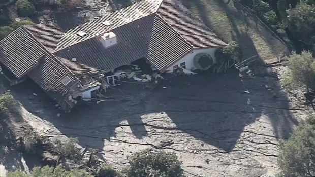 [LA] Watch: Day After Storm, Aerial Views of the Damage in Montecito