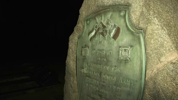 [LA] Watch: Confederate Monument Removed From Hollywood Forever Cemetery