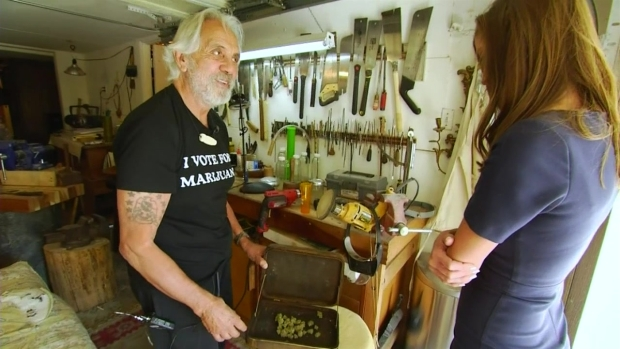 [LA] Web Extra: Touring Tommy Chong's Garage