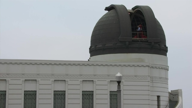 Hundreds watch eclipse from Mount Wilson Observatory
