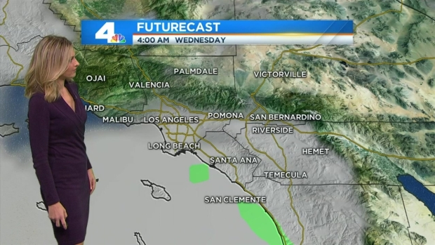 [LA] AM Forecast: Cloudy, Mainly Dry