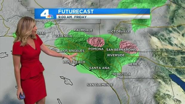 [LA] AM Forecast: Cold, Drizzle