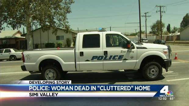 [LA] Police Investigate Woman's Death in 'Cluttered' Home