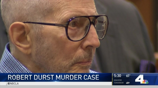 [LA] Witnesses Scared to Testify in Robert Durst Case: Prosecutors